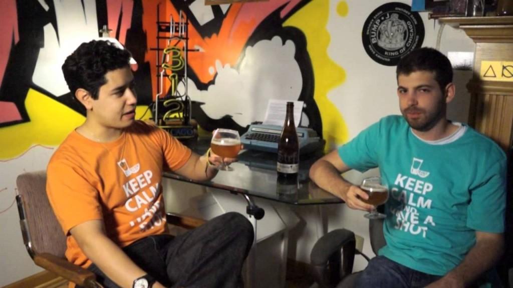 """Chicago Brew Crew """"St. Stefanus"""" Belgian blonde beer review"""